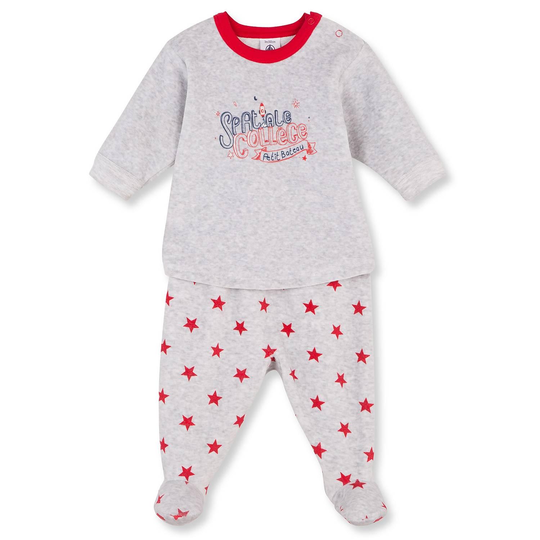 petit bateau nicki schlafanzug mit f en 74 babymode jungen gr e 74 ebay. Black Bedroom Furniture Sets. Home Design Ideas